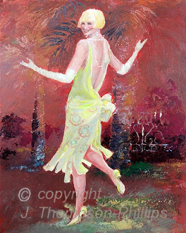 dancing flapper