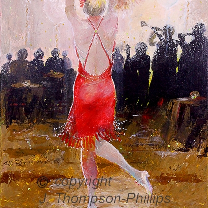 painting flapper