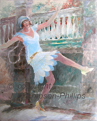 street dancer painting